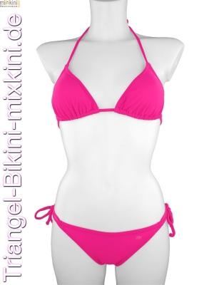 Bikini Triangel Set in pink
