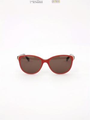 neue sonnenbrille orange au en und von innen braun gl ser. Black Bedroom Furniture Sets. Home Design Ideas