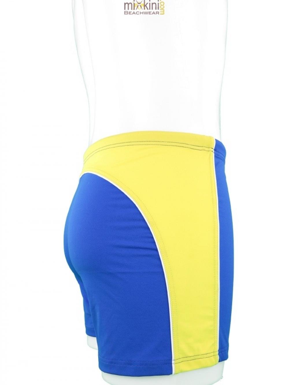 badehosen hellblau mit gelb f r m nner neu mixkini beachwear. Black Bedroom Furniture Sets. Home Design Ideas