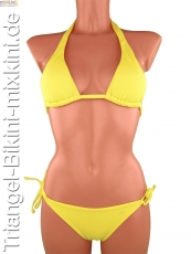 Triangel Mix Bikinis gelb