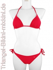Bikini Triangel Sets in rot
