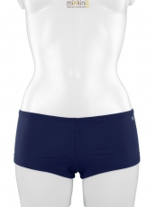 mix & match Bikini: einzelne Bikini Hotpants in blau, MIAMI