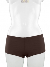mix&match Bademode: Bademode Hot Pants in braun, uni